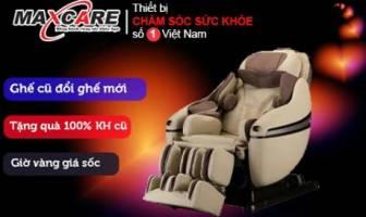 Đổi ghế massage cũ lấy ghế massage mới chiều lòng khách hàng nhân dịp giáng sinh