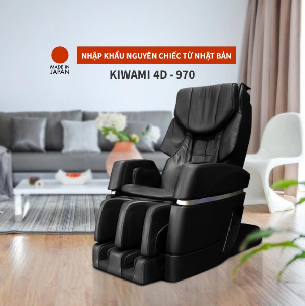 Ghế massage Kiwami 4D - 970 Japan